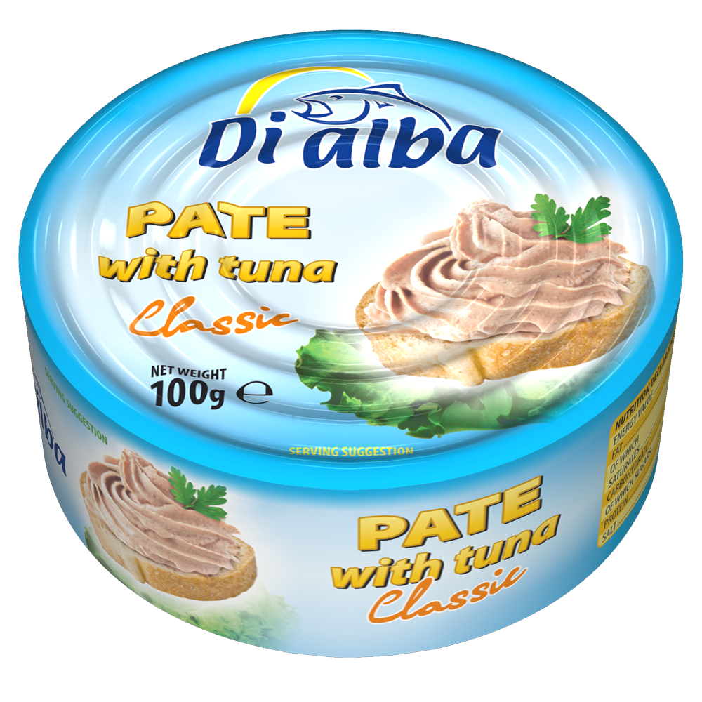 Pate with tuna Classic 100g.