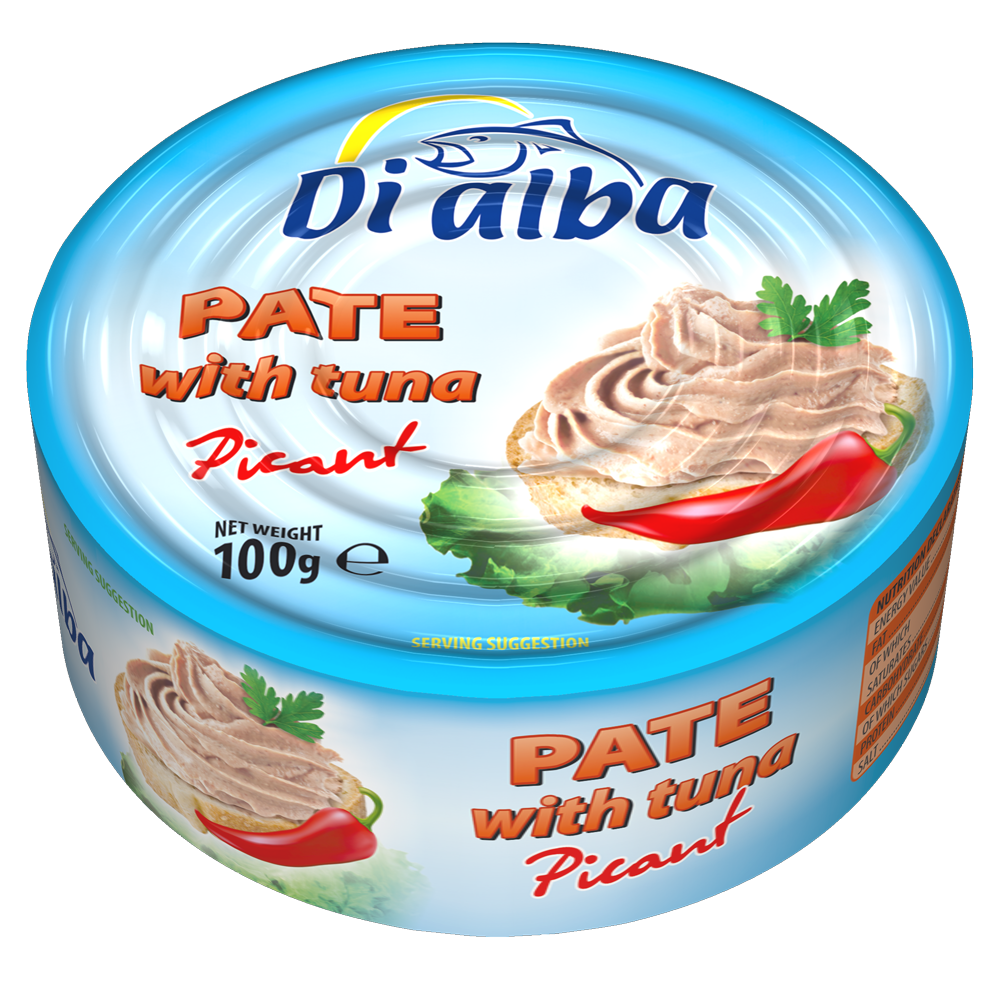 Pate with tuna Picant 100g.