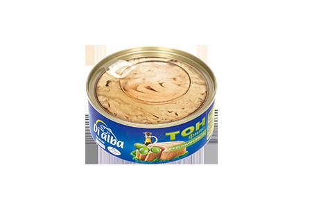 Риба тон филе с маслиново масло 100гр.
