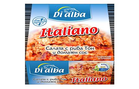 Салата с риба тон и доматен сос Italiano  160гр.