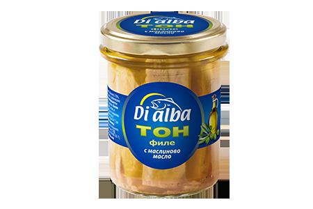 Тон филе с маслиново масло 200гр.