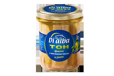 Тон филе с маслиново масло и риган 200гр.
