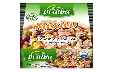 Салата с риба тон и зеленчуци Mexico  160гр.